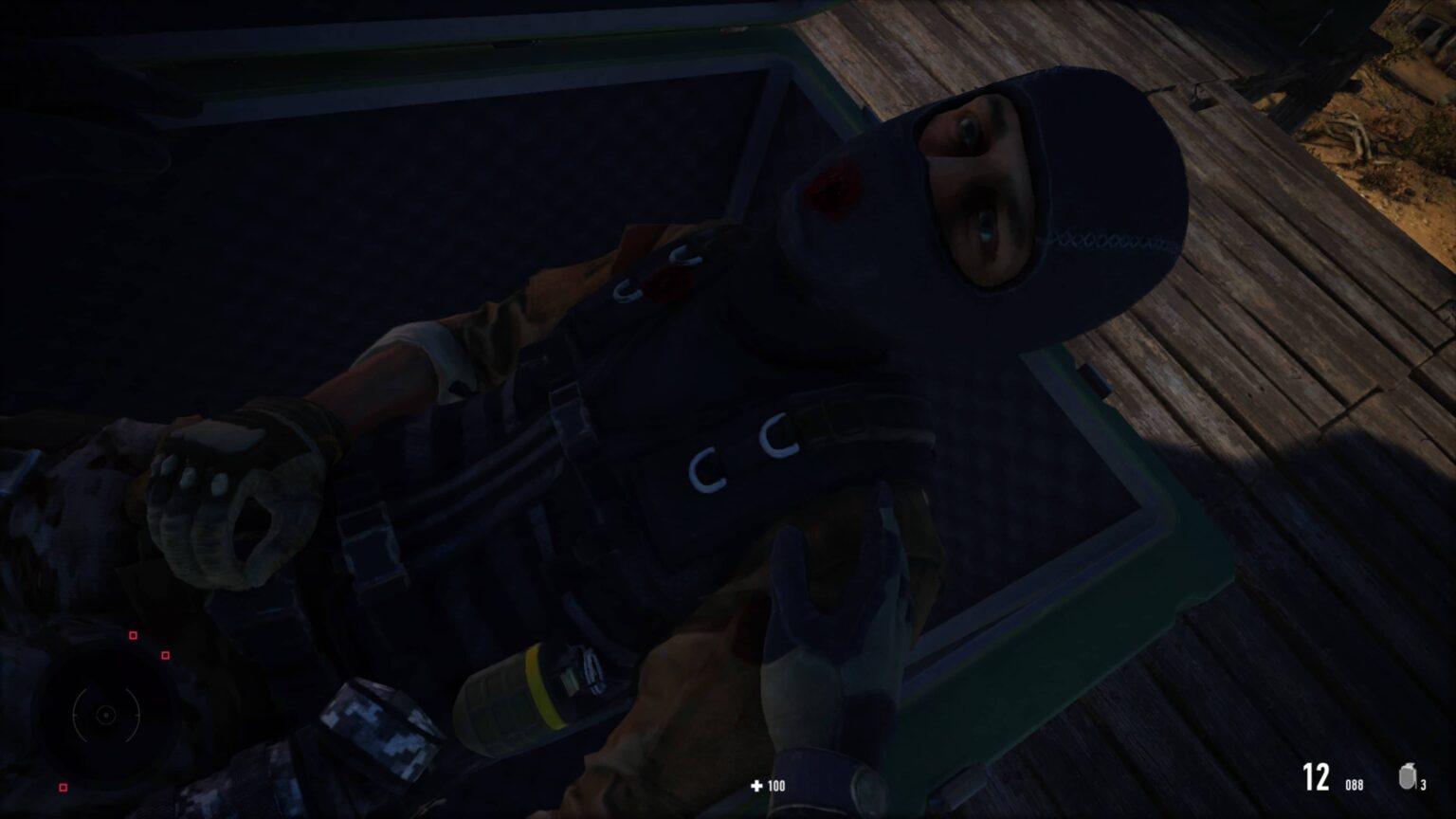 Sniper Ghost Warrior Contracts 2 - schovávání nepřítele