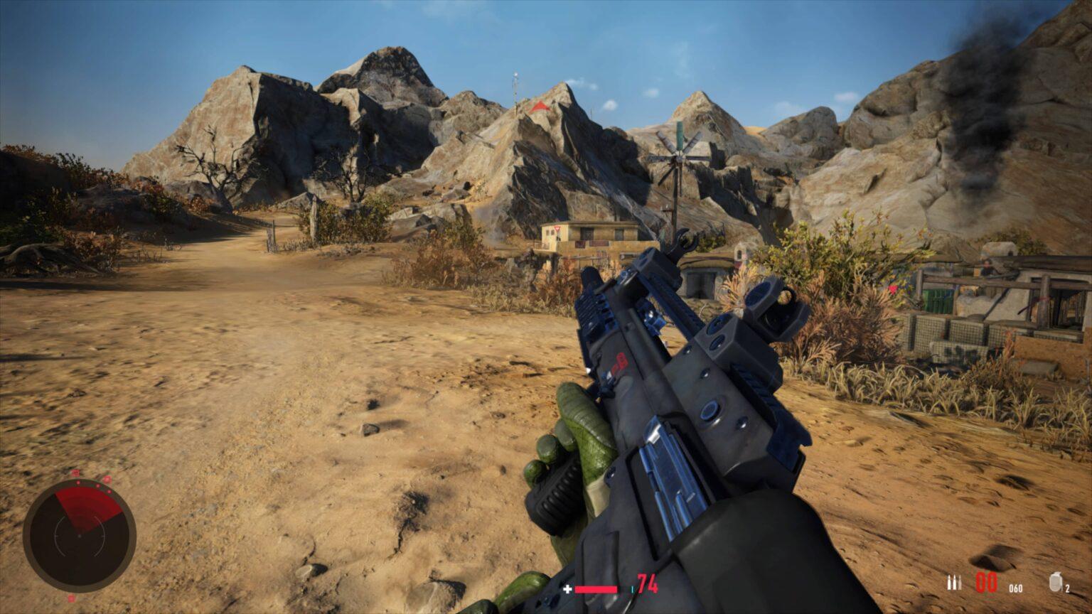 Sniper Ghost Warrior Contracts 2 - útočná puška