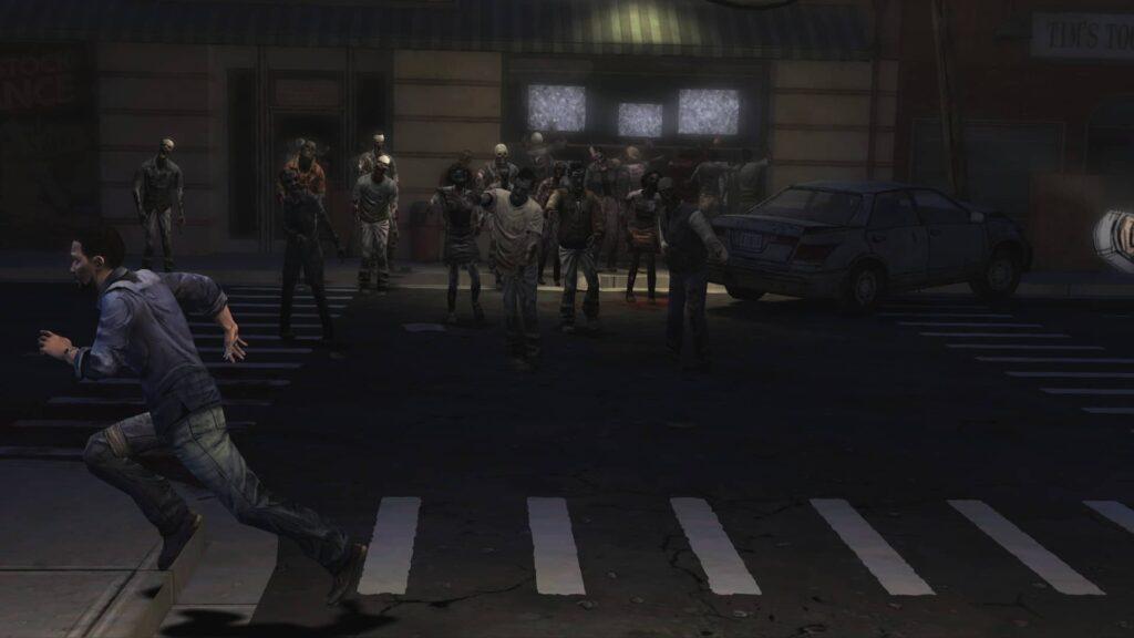 The Walking Dead útěk