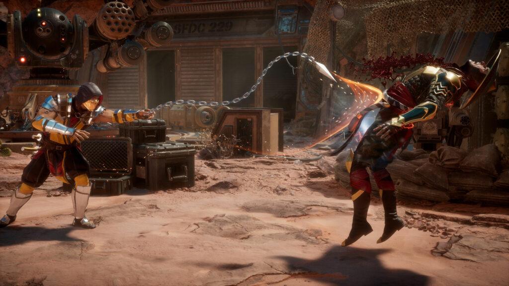 Mortal Kombat Get over here