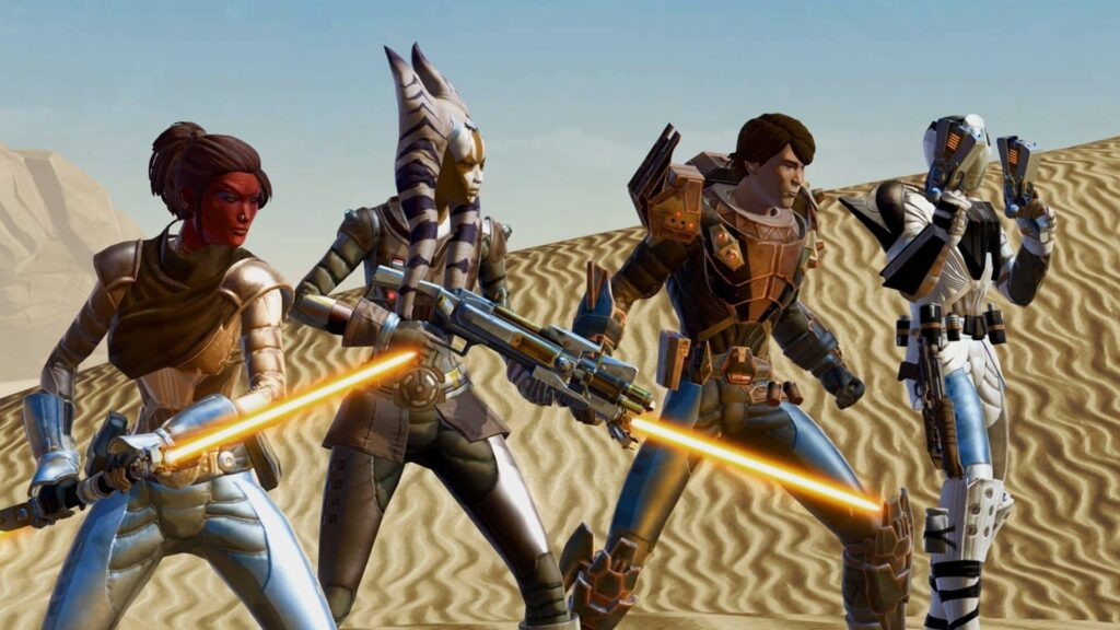 Star Wars The Old Republic – team